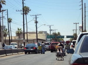 International Border Mexicali, Baja California
