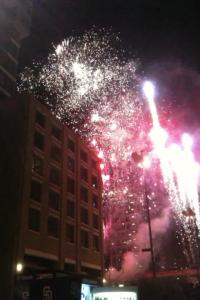 Petco Park Fireworks