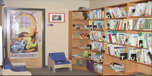 SDSU's Children's Center does not provide electronic devices to its infants, preschoolers and toddlers. The Center's children spend their time reading books, completing puzzles and games, and playing outside.