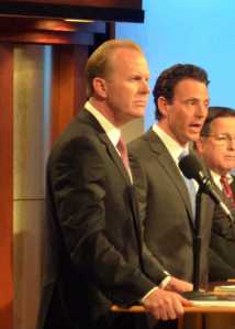 Faulconer received more votes than Alvarez during the special election but failed to reach a majority.