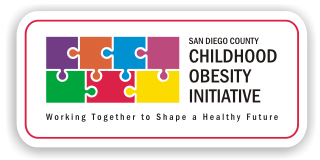 Logo for the San Diego County Childhood Obesity Initiative