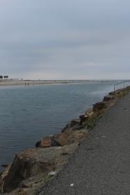 San Diego River at Ocean Beach