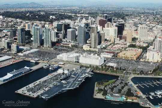 The Downtown San Diego skyline
