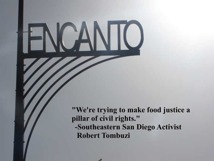 """""""We're trying to make food justice a pillar of civil rights,"""" Social Justice Activist Robert Tombuzi"""