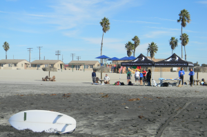 "The Jimmy Miller Foundation holds monthly ""ocean therapy"" sessions in Camp Pendleton to help veterans through the medium of surfing."